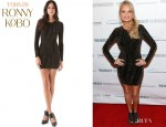Kristin Chenoweth's Torn by Ronny Kobo 'Zoe' Paisley Dress