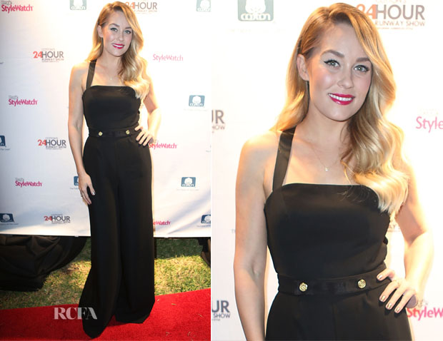 Lauren Conrad In Camilla and Marc - Cotton's 24 Hour Runway Show
