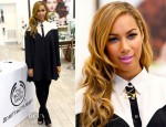 Leona Lewis In ASOS - The Body Shop Personal Appearance