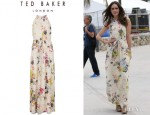 Louise Roe's Ted Baker London 'Attavia' Maxi Dress