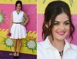 Ashley Tisdale In Rafael Cennamo - 2013 Nickelodeon Kids' Choice Awards