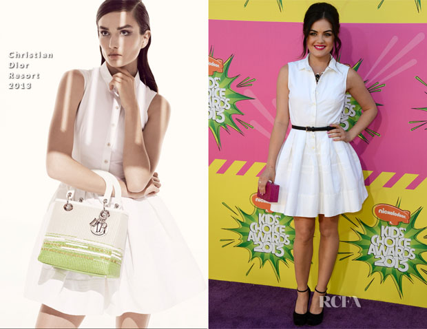 Lucy Hale in Christian Dior - Nick Choice Awards