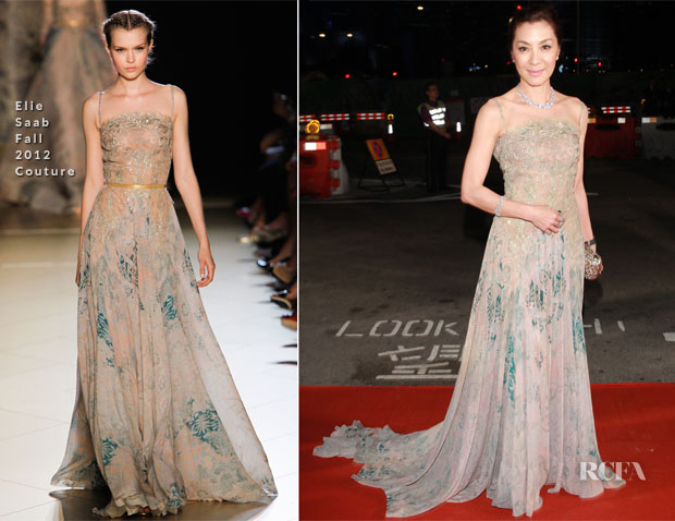 Michelle Yeoh In Elie Saab Couture - 7th Asian Film Awards