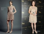 Michelle Yeoh In Valentino - 7th Asian Film Awards Cocktail Party