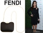 Minka Kelly's Fendi 'Giano' Clutch
