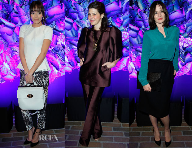 Mulberry Autumn Winter 2013 Chateau Marmont Party
