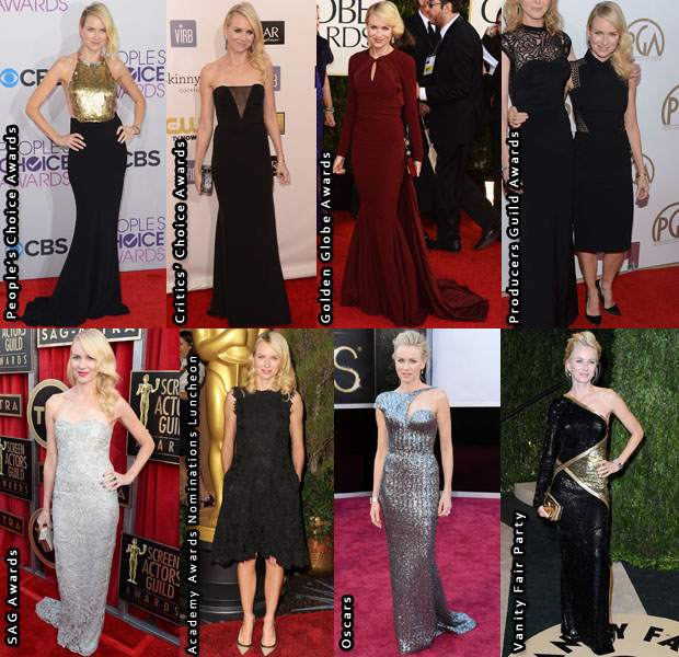 Which Was Your Favourite Naomi Watts 2013 Awards Season Look?