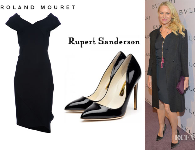 Naomi Watts' Roland Mouret 'Modesty' Dress And Rupert Sanderson 'Elba' Pumps