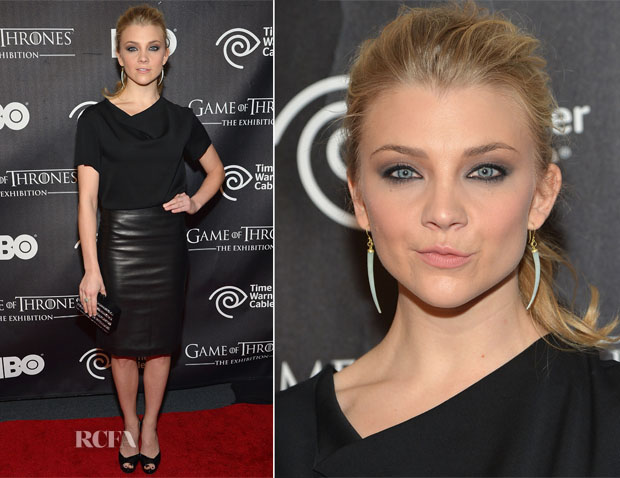 Natalie Dormer In The Row - 'Game Of Thrones' The Exhibition New York Opening