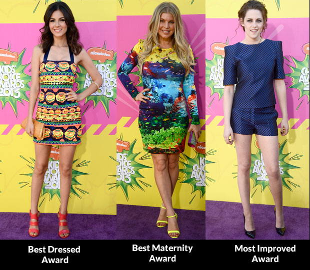 Fashion Critics' 2013 Nickelodeon Kids' Choice Awards Round Up