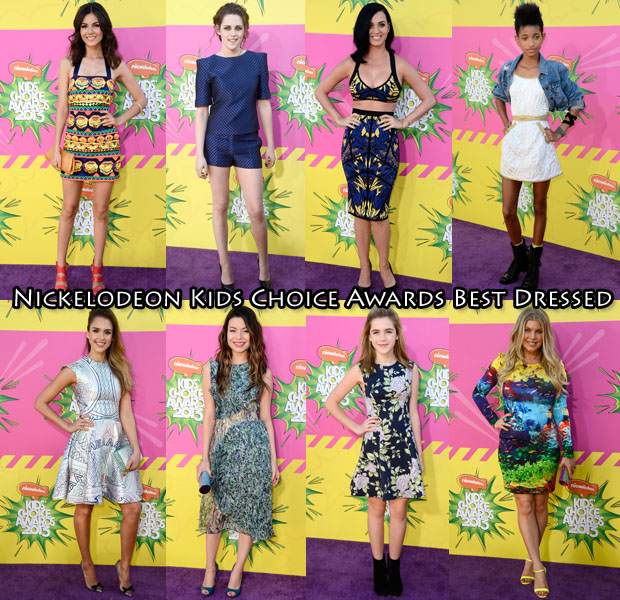 Nickelodeon kids choice awards best dressed