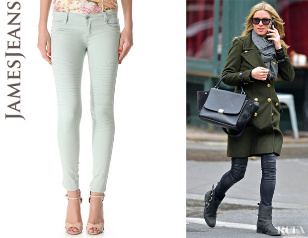 Nicky Hilton's James Jeans 'Motorcycle' Legging Jeans