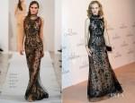 Nicole Kidman In Oscar de la Renta - Omega Gala 'La Nuit Enchantee'