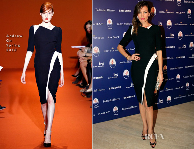 Nieves Alvarez In Andrew Gn - Maserati Launch Event