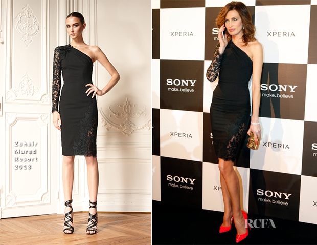 Nieves Alvarez In Zuhair Murad - Sony Xperia Mobile Event