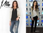 Nikki Reed's Mademoiselle Leather Jacket