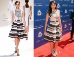 Nina Dobrev In Elie Saab - John Varvatos 10th Annual Stuart House Benefit