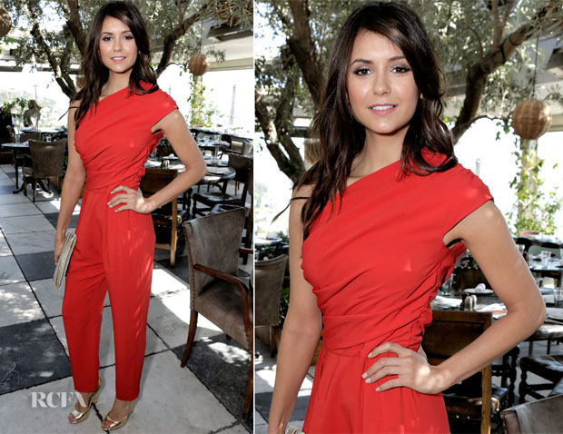 Nina Dobrev In Max Mara - 2nd Annual 25 Most Powerful Stylists Luncheon