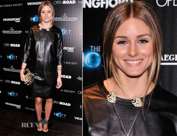 Olivia Palermo In Whistles - 'The Host' New York Screening
