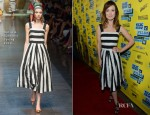 Olivia Wilde In Dolce & Gabbana - 'The Incredible Burt Wonderstone' 2013 SXSW Music, Film + Interactive Festival Screening