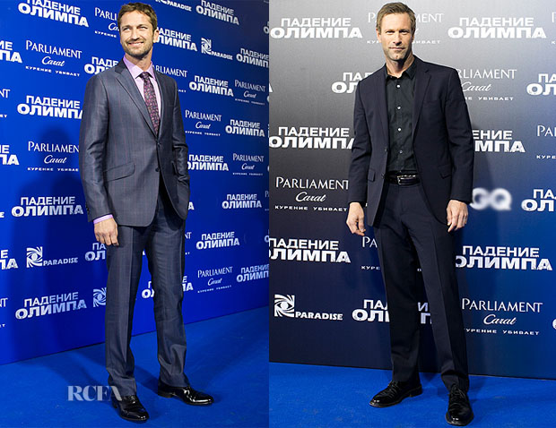 'Olympus Has Fallen' Moscow Premiere Menswear Round Up