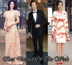 Best Dressed Of The Week - Pace Wu In Valentino & Giambattista Valli &  Adrien Brody In Margiela
