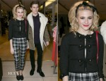Pixie Lott In Moschino - Panasonic Technics 'Shop To The Beat' Party