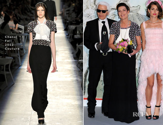 Princess Caroline In Chanel Couture - Bal de la Rose du Rocher