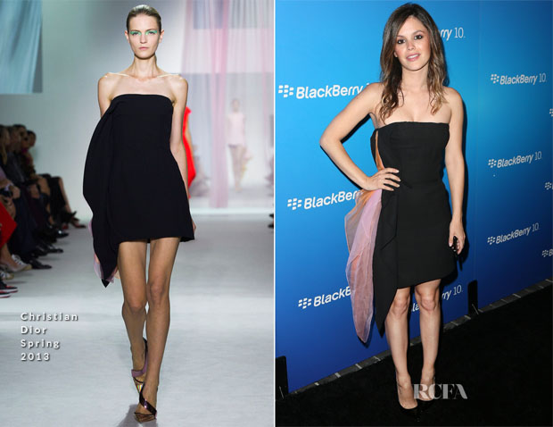 Rachel Bilson In Dior - BlackBerry Z10 Smartphone Launch Party