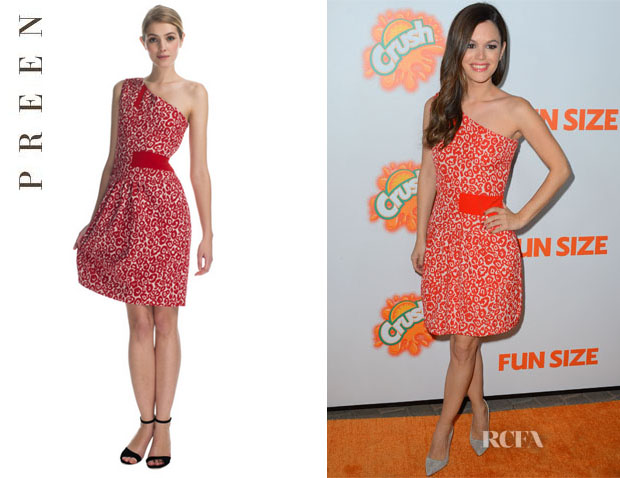 Rachel Bilson's Preen 'Aurora' Dress