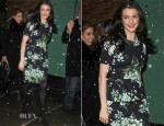 Rachel Weisz In Dolce & Gabbana - Good Morning America