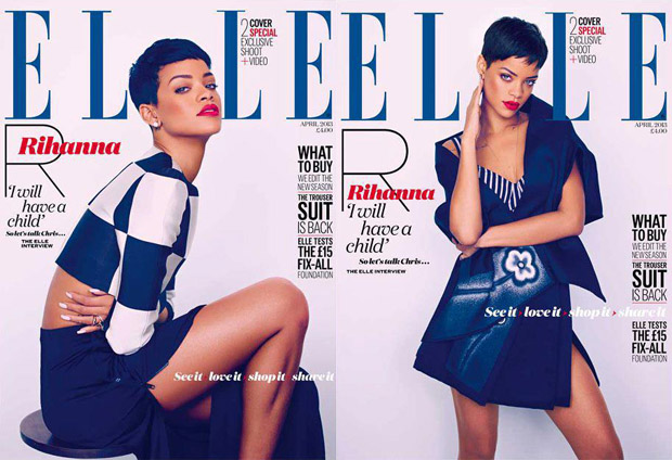 Rihanna Elle April 2013