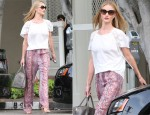 Rosie Huntington-Whiteley In Chloé & Isabel Marant - Out In LA