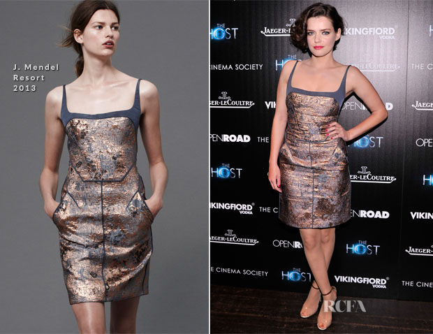 Roxane Mesquida In J Mendel - 'The Host' New York Screening