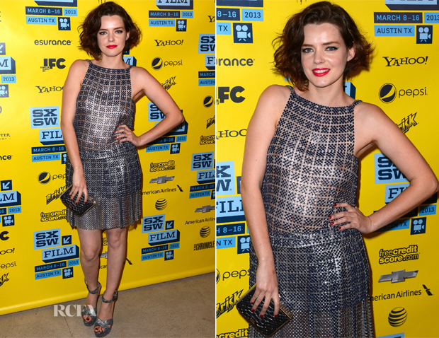 Roxane Mesquida In Paco Rabanne - 'Kiss of the Damned' 2013 SXSW Music, Film + Interactive Festival Screening