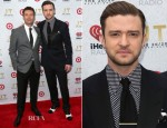 Ryan Seacrest & Justin Timberlake In Tom Ford - iHeartRadio '20/20′ Album Release Party With Justin Timberlake