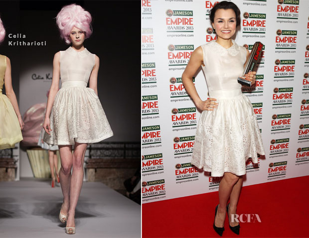 Samantha Barks In Celia Kritharioti - Jameson Empire Awards 2013