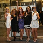The Saturdays Celebrate Their First Number One Single