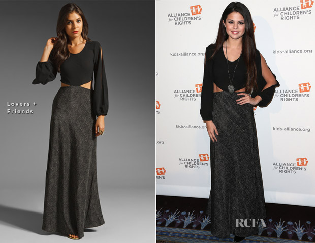 Selena Gomez In Lovers + Friends - The Alliance For Children's Rights' 21st Annual Dinner
