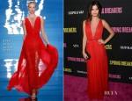 Selena Gomez In Reem Acra - 'Spring Breakers' LA Premiere