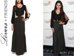 Selena Gomez' Lovers & Friends 'Fairytale' Maxi Dress
