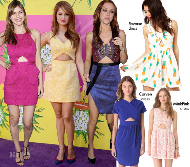 Shop The Trend Triangle Cut-Out Dresses