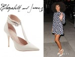 Solange Knowles' Elizabeth and James Saucy Ankle Cuff Pumps