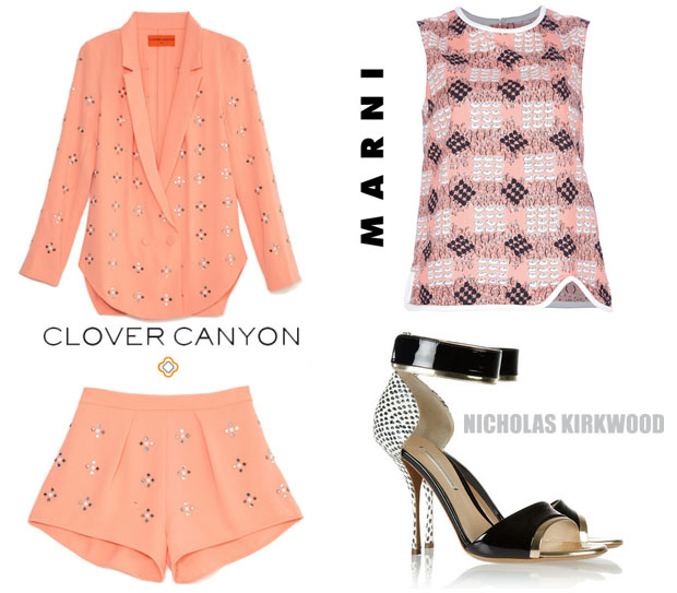 Solange Knowles In Clover Canyon & Marni