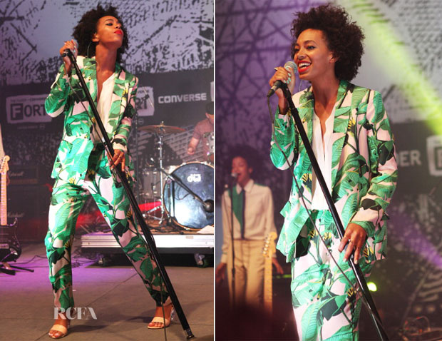 Solange Knowles In Mia Moretti for Pencey - Fader Fort
