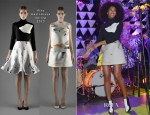 Solange Knowles In Vika Gazinskaya - The Armory Party