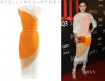 Song Jia's Stella McCartney 'Odilia' Organza And Knit Circle Dress