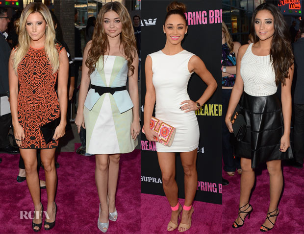 'Spring Breakers' LA Premiere Red Carpet Round Up