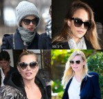 Celebrities Love...Stella McCartney Oversized Cat-Eye Sunglasses