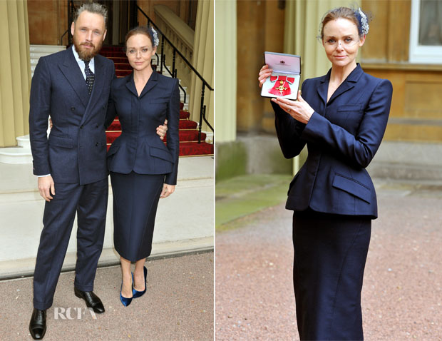 Stella McCartney In Stella McCartney - Investiture Ceremony